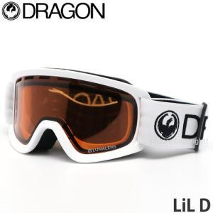 19model ドラゴン リル ディー DRAGON LiL D ゴーグル キッズ 子供 スノーボード スキー ルーマ フレーム:White レンズ:LumaLens Amber|s3store
