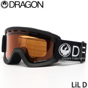 19model ドラゴン リル ディー DRAGON LiL D ゴーグル キッズ 子供 スノーボード スキー ルーマ フレーム:Black レンズ:LumaLens Amber|s3store