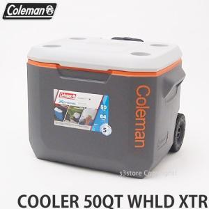 コールマン 50QT エクストリーム 5 ウィール クーラー クーラーボックス COLEMAN 50QT XTREME WHEELED COOLER アウトドア バーベキュー