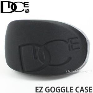 ダイス イージー ゴーグル ケース DICE EZ GOGGLE CASE 15-16 スノーボード ハード シングル SNOWBOARD カラー:BLACK s3store