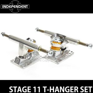 インディペンデント ステージ 11 T-ハンガーセット 【INDEPENDENT STAGE 11 T-HANGER SET】 スケートボード クルーザー SKATEBOARD カラー:Silver サイズ:109Std|s3store