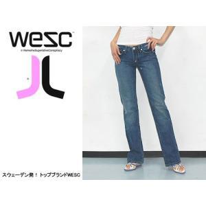 WESC (ウィーエスシー) WE RELAXED LADIES JEAN/DJ ヘッドフォンなどでも有名なWESC 人気のデニムジーンズ|s3store