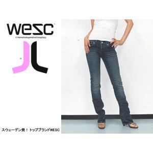 WESC (ウィーエスシー) WE TIGHT LADIES JEAN/HAIRDRESSER ヘッドフォンなどでも有名なWESC 人気のデニムジーンズ|s3store