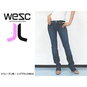 WESC (ウィーエスシー) WE TIGHT LADIES JEAN/RETIRED PAINTER   ヘッドフォンなどでも有名なWESC 人気のデニムジーンズ|s3store