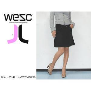 WESC (ウィーエスシー) WE PY LADIES SKIRT BELUGA デザイン性抜群!超かわいいスカート!|s3store