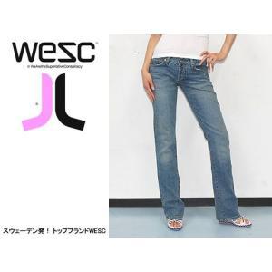 WESC (ウィーエスシー) WE MEDIUM LADIES JEAN FRANCE ヘッドフォンなどでも有名なWESC 人気のデニムジーンズ|s3store