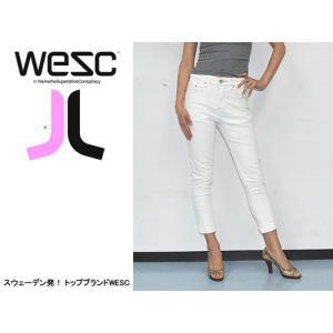 WESC (ウィーエスシー) WE STACY LADIES JEAN MEMPHIS ヘッドフォンなどでも有名なWESC 人気のデニムジーンズ|s3store