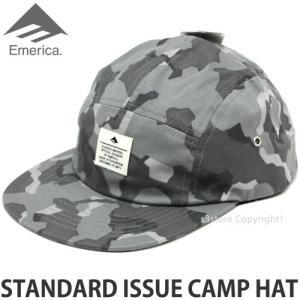 エメリカ スタンダード イシュー キャンプ ハット Emerica STANDARD ISSUE CAMP HAT スケートボード SKATEBOARD キャップ 帽子 Color:CAMO s3store