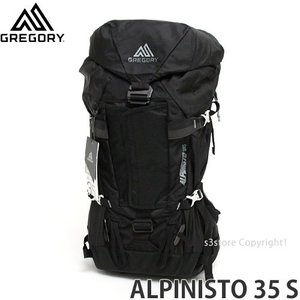 グレゴリー アルピニスト 35 S GREGORY ALPINISTO 35 S メンズ バックパック 登山 アウトドア カラー:BASALT BLACK サイズ:33L|s3store