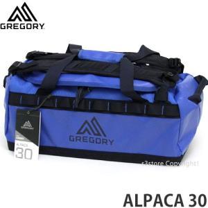 グレゴリー アルパカ 30 GREGORY ALPACA 30 バッグ ダッフル アウトドア 旅行 ナイロン BAG 大容量 2WAY カラー:MARINE BLUE size:30L|s3store