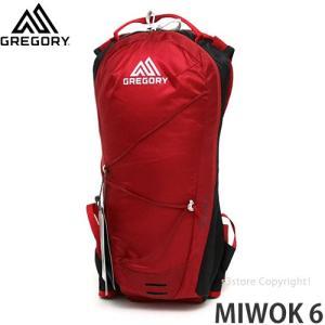 グレゴリー ミウォック 6 GREGORY MIWOK 6 メンズ バックパック ハイドレーション 登山 アウトドア カラー:SPARK RED サイズ:6L|s3store