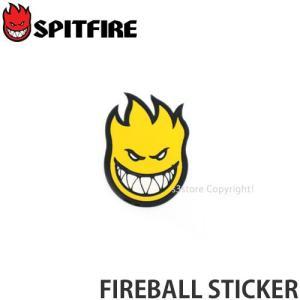スピットファイヤー ファイヤーボール ステッカー SPITFIRE FIREBALL STICKER スケートボード シール カスタム カラー:Yellow サイズ:MINI|s3store