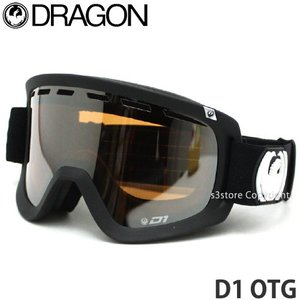 17 ドラゴン DRAGON D1 OTG 16-17 2017 スノーボード ゴーグル 眼鏡対応 メンズ SNOWBOARD GOGGLE MENS 平面 Frame:Coal Lens:Ionized