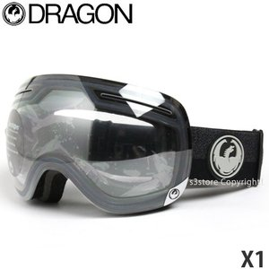 【ワケあり】 17model ドラゴン エックス ワン DRAGON X1 訳あり スノーボード ゴーグル SNOW フレーム:Flux Black レンズ:Clear|s3store