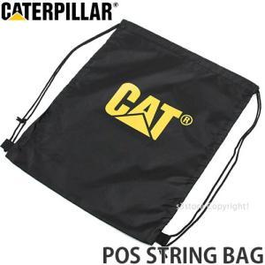 キャタピラー ストリング バッグ 【CATERPILLAR POS String Bag】 ワークブーツ スニーカー アウトドア 靴 ポーチ 袋 巾着 カラー:Yel/Blk|s3store