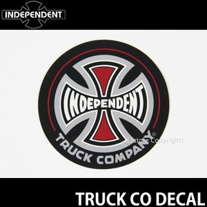 インディペンデント ディケール INDEPENDENT TRUCK CO DECAL スケートボード ロゴ ステッカー SKATEBOARD STICKER 耐水 カラー:Black サイズ:直径 約7.6cm|s3store