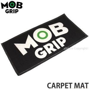 モブ グリップ カーペット マット MOBGRIP CARPET MAT スケートボード ロゴ 玄関マット インテリア SKATEBOARD カラー:Black サイズ:18 x 36|s3store