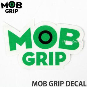モブグリップ ディケール MOBGRIP MOB GRIP DECAL スケートボード ステッカー シール ブランド オリジナル ロゴ カラー:Green/Black サイズ:約8.2cmx約5.4cm|s3store