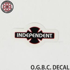 インディペンデント ディケール INDEPENDENT O.G.B.C. DECAL スケートボード ロゴ ステッカー SKATEBOARD STICKER 耐水 カラー:Black サイズ:約3.8cm x約2cm|s3store