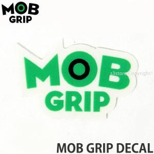モブグリップ ディケール MOB GRIP DECAL スケートボード ステッカー オリジナル ロゴ カラー:Green/Black サイズ:約4.5cm x 約2.5cm|s3store