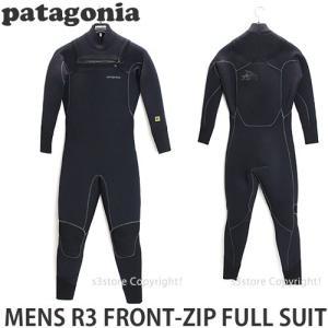 パタゴニア メンズ R3 フロントジップ フルスーツ 【Patagonia MENS R3 FRONT ZIP FULL SUIT】 サーフィン ウェット 4.5mm / 3.5mm SURF WET カラー:Black|s3store