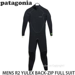 パタゴニア メンズ R2 ユーレックス バッグジップ フルスーツ 【Patagonia MENS R2 YULEX BACK-ZIP FULL SUIT】 サーフィン ウェットスーツ SURF カラー:Black|s3store