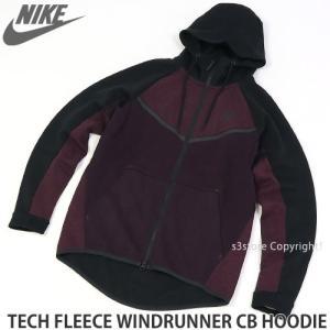 ナイキ テックフリース ウィンドランナー フーディ NIKE TECH FLEECE WINDRUNNER CB HOODIE メンズ パーカー スウェット 保温性 Col:WINE|s3store