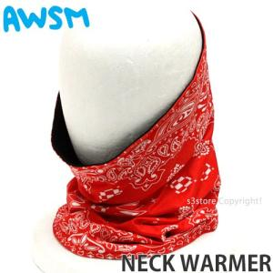 オーサム ネック ウォーマー AWSM NECK WARME...