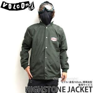 18model ボルコム ハイストーン ジャケット ウエア VOLCOM HIGHSTONE JACKET スノーボード 防水 撥水 メンズ SNOWBOARD WEAR Color:DKG s3store