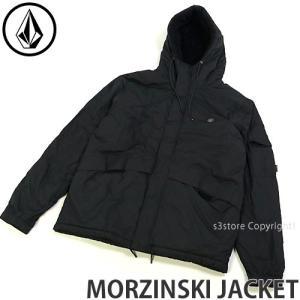 ボルコム モルジンスキ ジャケット VOLCOM MORZINSKI JACKET メンズ 服 上着 アウター アパレル OUTER MENS カラー:BLK|s3store