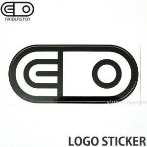 エアブラスター ロゴ ステッカー AIRBLASTER LOGO STICKER スノーボード スノボ シール SNOWBOARD Color:Black Size:6.3cmx13.3cm|s3store