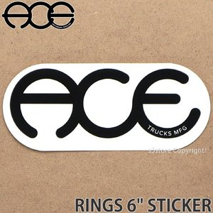 エース リングス ステッカー ACE RINGS 6