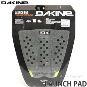 ダカイン ランチ パッド 【DAKINE LAUNCH PAD】 サーフィン デッキ グリップ サーフギア SURF GRIP カラー:GUNMETAL サイズ:29cm x 27cm|s3store