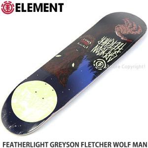 エレメント フェザーライト ELEMENT FEATHERLIGHT GREYSON FLETCHER WOLF MAN スケートボード スケボー デッキ 板 シグネチャー size:8x32|s3store