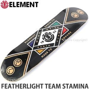 エレメント フェザーライト ELEMENT FEATHERLIGHT TEAM STAMINA スケートボード スケボー デッキ 板 ストリート パーク サイズ:8x32|s3store