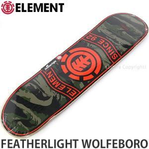 エレメント ELEMENT FEATHERLIGHT WOLFEBORO 国内正規品 スケートボード スケボー デッキ 板 ストリート プロ 初心者 サイズ:8x32.0625|s3store