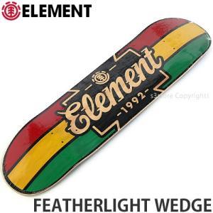 エレメント ELEMENT FEATHERLIGHT WEDGE 国内正規品 スケートボード スケボー デッキ 板 ストリート プロ 初心者 サイズ:8x32.0625|s3store