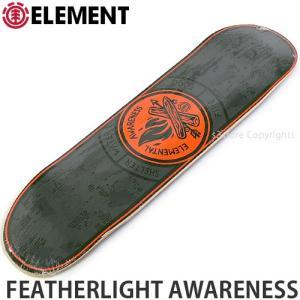 エレメント ELEMENT FEATHERLIGHT AWARENESS 国内正規品 スケートボード スケボー デッキ 板 ストリート プロ 初心者 サイズ:8x32.0625|s3store