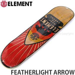 エレメント ELEMENT FEATHERLIGHT ARROW 国内正規品 スケートボード スケボー デッキ 板 ストリート プロ 初心者 サイズ:8x32.0625|s3store
