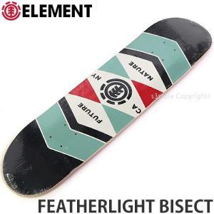 エレメント ELEMENT FEATHERLIGHT BISECT 国内正規品 スケートボード スケボー デッキ 板 ストリート プロ 初心者 サイズ:7.68x31.1|s3store