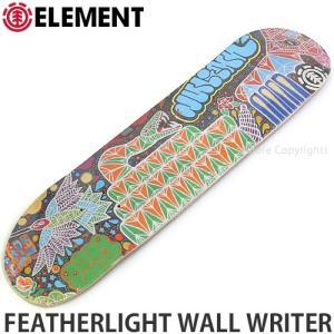 エレメント ELEMENT FEATHERLIGHT WALL WRITER 国内正規品 スケート スケボー デッキ 板 ストリート カラー:JulianD サイズ:8x32.0625|s3store