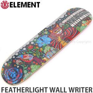 エレメント ELEMENT FEATHERLIGHT WALL WRITER 国内正規品 スケート スケボー デッキ 板 ストリート カラー:EvanS サイズ:8x32.0625|s3store
