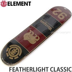エレメント ELEMENT FEATHERLIGHT CLASSIC 国内正規品 スケートボード スケボー デッキ 板 ストリート カラー:Brandon サイズ:7.9x31.9|s3store