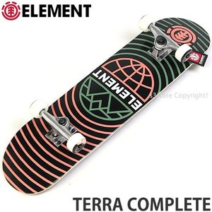 エレメント テラ コンプリート ELEMENT TERRA COMPLETE スケートボード スケボー 完成品 スクール 初心者 組立済み サイズ:7.75x31.25|s3store