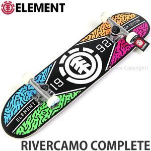 エレメント リバーカモ コンプリート ELEMENT RIVERCAMO COMPLETE スケートボード スケボー 完成品 初心者 組立済み サイズ:7.5x31.25|s3store