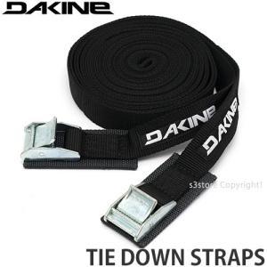 ダカイン タイ ダウン ストラップ DAKINE TIE DOWN STRAPS サーフ アウトドア 旅行 自動車 固定 ロープ ACCESSORIES Col:BLACK Size:12