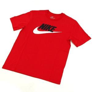 ナイキ Tシャツ NIKE FUTURAICON SS T-SHIRT 半袖 トップス カットソー 服 シンプル ロゴ アパレル カラー:レッド/ブラック/ホワイト|s3store