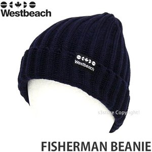 16 ウエストビーチ フィッシャーマン ビーニー 【Westbeach FISHERMAN BEANIE】 国内正規品 スノーボード スノボ ビーニー ニットキャップ リブ ワッチ Col:NAVY|s3store