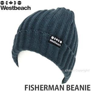 16 ウエストビーチ フィッシャーマン ビーニー 【Westbeach FISHERMAN BEANIE】 国内正規品 スノーボード スノボ ビーニー ニットキャップ リブワッチ Col:SLATE|s3store