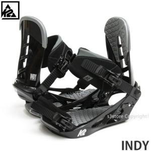 17model ケーツー インディ バインディング K2 INDY 16-17 スノーボード ビンディング BINDING シンプル 耐久性 カラー:BLK